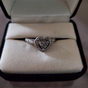 Kay Jewelers Heart Shaped Ring